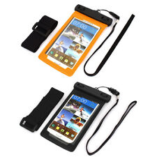 "Underwater Waterproof Case Dry Bag Skin Cover Saver Pouch for 5.5"" Cell Phone"