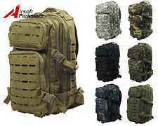30L Tactical Outdoor Military Camo Backpack Rucksack Camping Hiking Hunting Bag