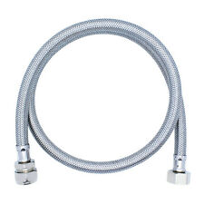 "(ONE or PAIR) FLEXIBLE HOSE TAP CONNECTOR 1/2"" x 15mm 900mm VERY LONG Tube EXTRA"
