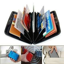 Waterproof Business ID Credit Card Wallet Holder Aluminum Metal Pocket Case New