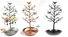 ONE Bird Tree Stand Jewelry Earrings Necklace Display Ring Holder Show Rack hs