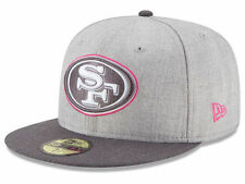 2015 San Francisco 49ers New Era 59FIFTY NFL Breast Cancer Awareness Fitted Hat
