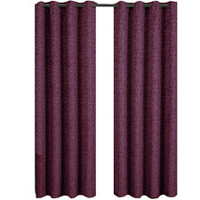 Burgundy Jacquard Grommet Top Curtain Panel Fiorela  (each)