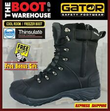 Gator 'Polar' GP2404 Cool Room & Freezer Boot. Safety Toe Cap. WATERPROOF!