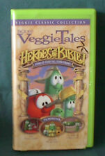 Limited Edition Veggie Classic Heroes of the Bible Veggie Tales VHS Video Tape