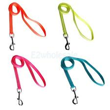 Nylon Pet Dog Leash Lead Rope Clip Reflective for Puppy Collar Harness M XL