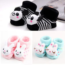 Fashion Newborn Baby Girl Boy Anti-slip Socks Slipper Shoes Boots 0-6 Months