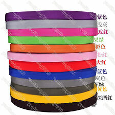 3-10Yrds 1 Inch (25mm) Nylon Webbing Strapping Lots Color-Choosing Red Pink