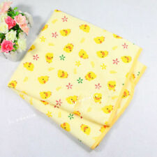 New Infant Baby Urine Changing Pad Cute Yellow Duck Cotton Waterproof 40cm*50cm