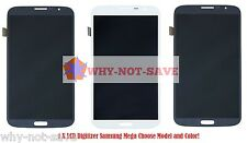 Full LCD Digitizer Glass Screen Display Replacement Part for Samsung Galaxy Mega