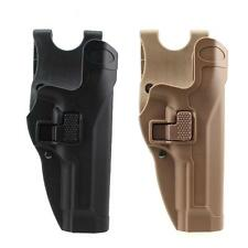 Tactical Level 2 M92 Holster Right Hand Waist Belt Pistol Holster f/ Beretta M92