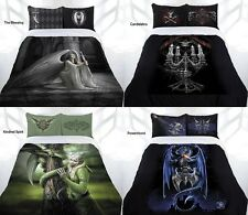 NEW ARRIVAL Anne Stokes Gothic Fairy Angel Quilt Cover Set - DOUBLE QUEEN KING