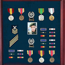 Photo And Medal Display Case, Military Medal Frame With Photo Hand Made By Veter