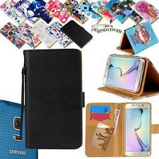 For Various Samsung Galaxy SmartPhones - Leather Wallet Card Stand Case Cover
