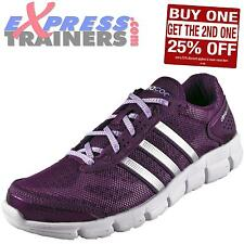 Adidas Womens CC ClimaCool Fresh Running Shoes Gym Trainers Purple AUTHENTIC