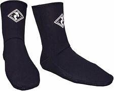 TBF 3mm NEOPRENE BOOT SOCKS wetsuit 3mm SOX - size 3 to 13 UK foot