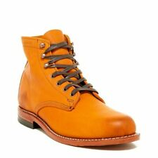New Men's WOLVERINE 1000 Mile W05848 Tan Leather Original Boots MADE USA Retro