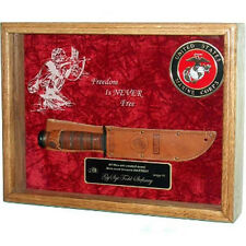 Knife Display Case Hand Made By Veterans