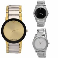 Fashion Men Women's Watch Stainless Steel Analog Quartz Wrist Watches Silver #JG