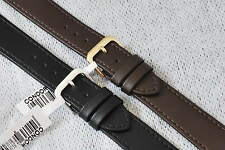 CONDOR 18mm 20mm LEATHER WATCH STRAPS PLUS LONG ONES. BLACK, BROWN.POPULAR.CO123