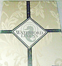 Waterford Linens  Winter Scroll Tablecloths Assorted Sizes Light Gold
