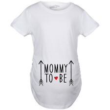 Maternity Mommy To Be Pregnancy Announcement T shirt Baby Bump Tees