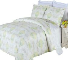 (4-PIECEs) Egyptian cotton with 300 Thread count Lana Comforter Set