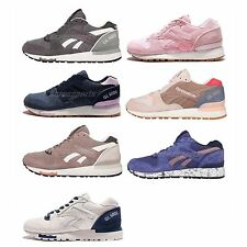 Reebok GL 6000 Suede Womens Retro Running Classic Shoes Sneakers Pick 1