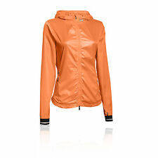 Under Armour Storm Layered Up Womens Orange Water Resistant Hooded Jacket Top