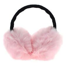 Women Winter Plush Rabbit Hair Earmuff Ear Warmer Earlap Headband Ear Muff Gift