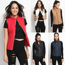 TheMogan Sporty Lightweight Quilted Vest Sleeveless Zipper Puffer Jacket