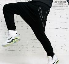 Mens Casual Jogger Dance Sportwear Baggy Harem Pants Slacks loose Trousers