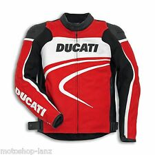 Ducati 9810283 Men's Corse Leather jacket Motorcycle Racing SPORT New 2015 red