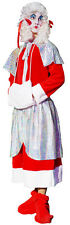 Stage Shows-Mens CHRISTMAS PANTO DAME-Fancy Dress Costume Sizes SML-XXXXL