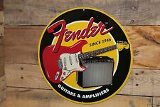 FENDER Electric Guitar Metal Amplifier Stratocaster Pickguard Pic Body Amp Music
