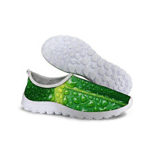NEW Green Running Shoes Mens Sneakers Tennis Sport Athletic Shoes Cross Training