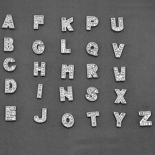 10pcs Fashion Living Memory Letter Alphabet Charms For Floating Locket Jewelry