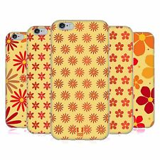 HEAD CASE DESIGNS FLORAL PATTERN SOFT GEL CASE FOR APPLE iPHONE PHONES