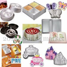 Multiple Styles Cake Pan Decor Sugarcraft Fondant Baking Tin Bakeware Tray Mold