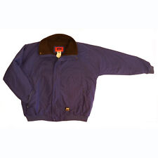 Helly Hansen Storm Jacket in Blue, Water Resistant, Fleece Lined in XL and 2XL