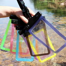 Color Waterproof Underwater Pouch Bag Pack Case Cover For Cell Phone iPhone HTC