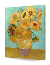 DecorArts-Sunflowers by Van Gogh Classic Art Reproductions Giclee Canvas