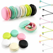 3.5mm Earbud Earphone Headset Macaron For Mobile Phone MP3 MP4 Tablet PC Laptop