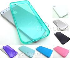 USA SHIP TPU SILICONE GEL RUBBER SKIN COVER CASE APPLE IPHONE MODELS