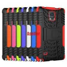For Samsung Galaxy Note 4 3D 2-Layer Shock Skip Proof Grenade Rugged Impact Case