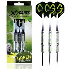 MICHAEL VAN GERWEN TUNGSTEN DARTS SET MVG XQ Max Dart Stems, Flights, 21-25g