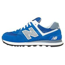 New Balance ML574CPP D Blue Grey Suede Mens Running Shoes Sneakers ML574CPPD