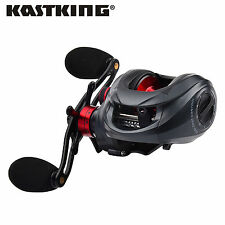 KastKing Spartacus Low Profile Saltwater Baitcaster Baitcasting Fishing Reel
