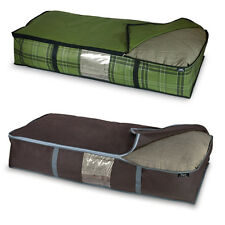 Domopak Living Non Woven Underbed Blanket Storage Cover Bag, Extra Large