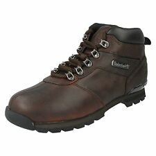 TIMBERLAND MENS LACE UP SHOES LEATHER WALKING HIKING ANKLE BOOTS SPLITROCK 2